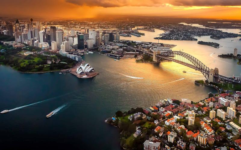 Passengers will arrive in Sydney around midday the following day - getty