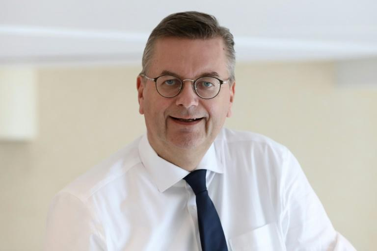 German FA boss Reinhard Grindel in Monaco last week
