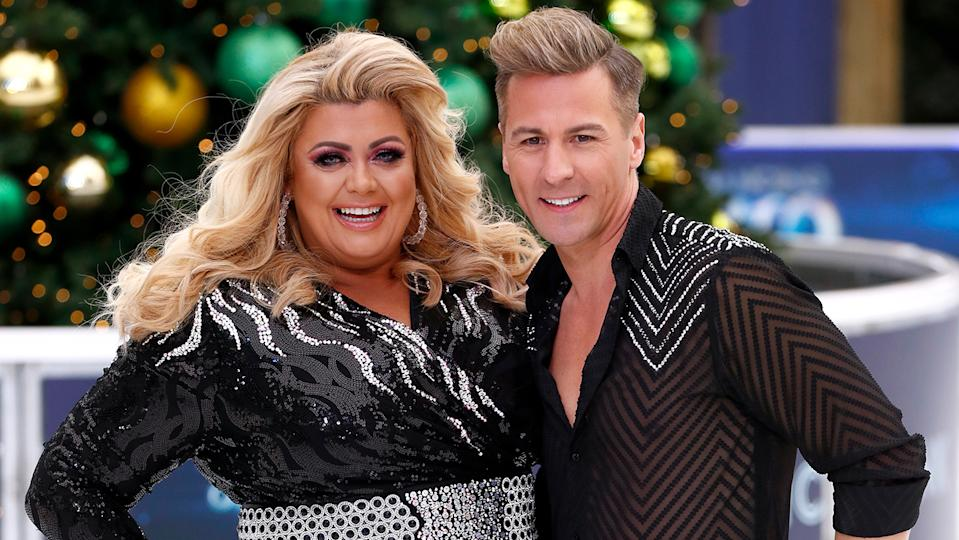 Matt Evers said his skate off with Gemma Collins on Dancing On Ice was a career low