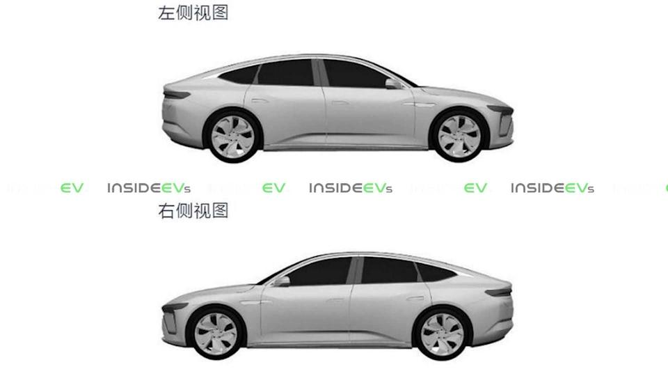 Nio's Contender Against The Tesla Model S Appears In Patent Images
