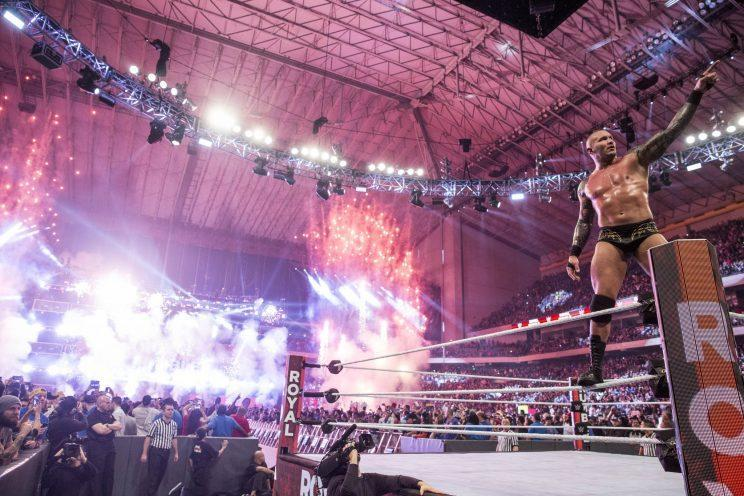After winning the Royal Rumble in January, WWE Superstar Randy Orton is headlining WrestleMania 33 in a WWE Championship match against Bray Wyatt. (Image courtesy of WWE)