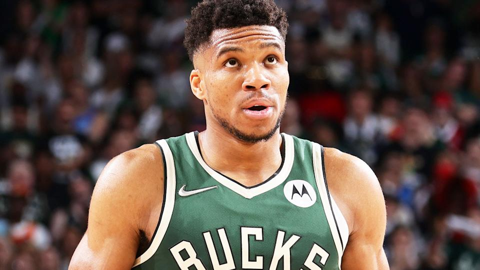 Giannis Antetokounmpo, pictured here during Game 1 of the Eastern Conference Finals.