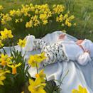 """<p>Eugenie celebrated her first Mother's Day as a mum with a photo of her baby boy on a blanket near some flowers. </p><p>""""I'm so excited to be August's mum and as you can see I'm enjoying my first Mother's Day. I'm also celebrating my beautiful Mumma with this picture of us from March 1990. You've taught me so much. Happy Mother's Day to all 💐"""" she wrote in the caption.</p><p><a href=""""https://www.instagram.com/p/CMZ-DkcFFMf/?utm_source=ig_embed&utm_campaign=loading"""" rel=""""nofollow noopener"""" target=""""_blank"""" data-ylk=""""slk:See the original post on Instagram"""" class=""""link rapid-noclick-resp"""">See the original post on Instagram</a></p>"""