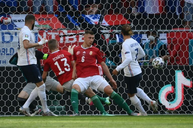 Antoine Griezmann's seventh European Championship goal rescued a point for France against Hungary