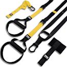 <p>The possibilities are endless with this <span>TRX All-In-One Suspension Training</span> ($170) system. It's pretty easy to set up, and I use it all the time. This was definitely one of my best investments.</p>