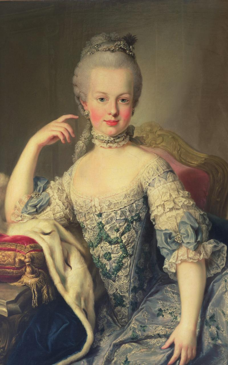 Marie Antoinette was renowned for her love of diamonds and pearls - This content is subject to copyright.