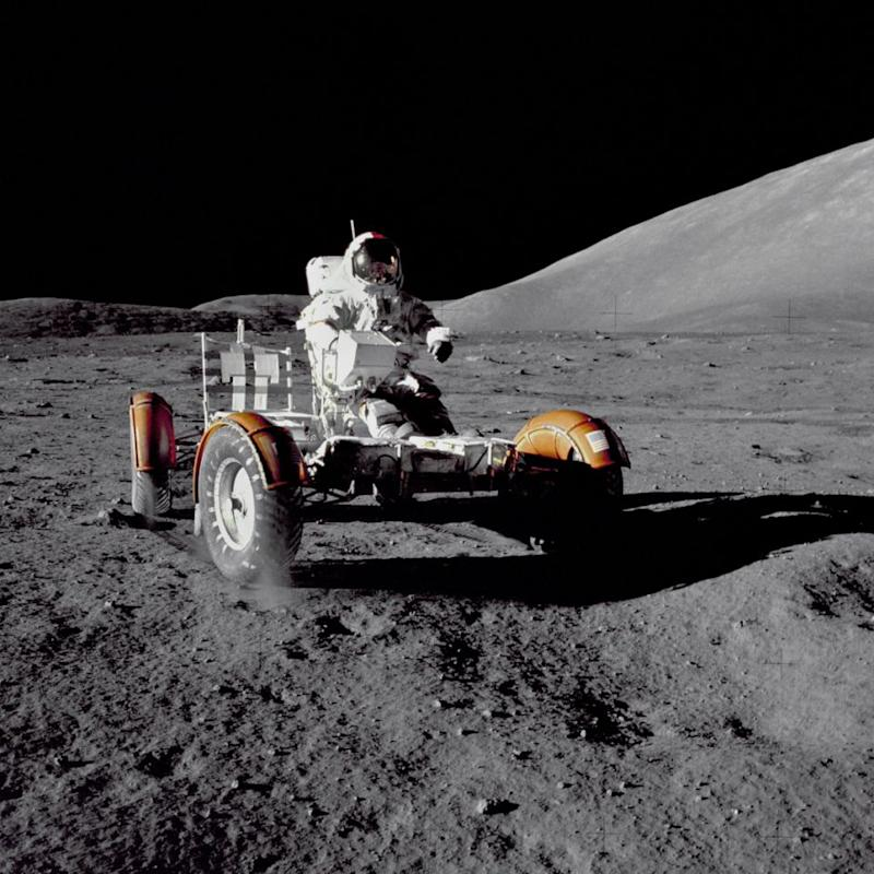 David claims there's more to the moon landings than what we've been told to believe. Photo: Getty