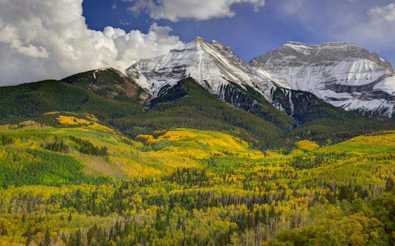 The San Juan Mountains, part of the Rockies, pass through Colorado and New Mexico. Thousands have roamed these mountainsides in search of Fenn's treasure - Danita Delimont/Gallo Images
