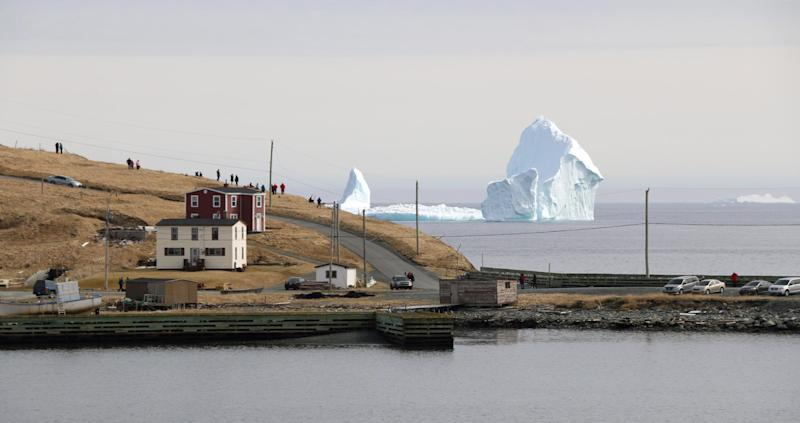The Ferryland iceberg is so huge that you can feel its chill even miles away on the shore: Photographs by Jared Clarke