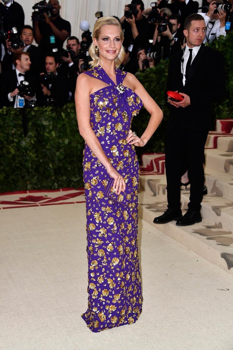 """<h1 class=""""title"""">Poppy Delevingne in Michael Kors Collection and David Webb jewelry</h1><cite class=""""credit"""">Photo: Getty Images</cite>"""