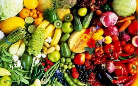 Dr Chatterjee advocates eating five different coloured vegetables a day - Credit: Maximilian Stock Ltd/Getty Images Contributor