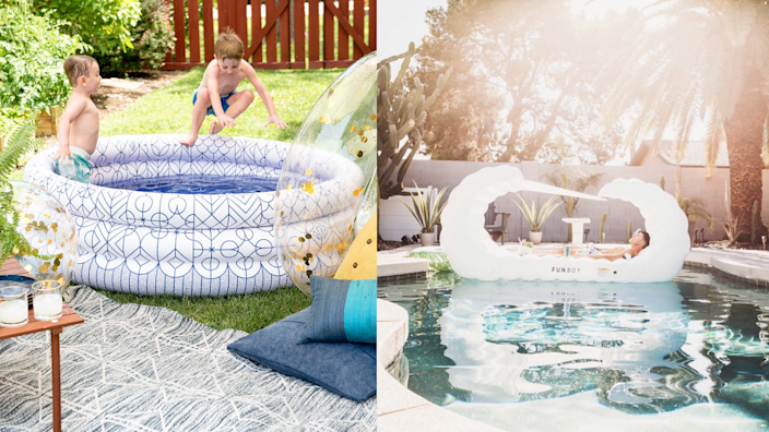 Pools and floats