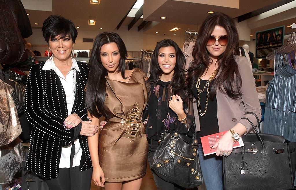 """Tormented Over Their Bodies: Mom Pushes Them to Have Surgery,"" reads the cover of <i>In Touch</i>, which uncovers how Kris Jenner is forcing her daughters Kim, Kourtney, and Khloe Kardashian to have plastic surgery. The family matriarch wants her daughters ""to do anything they can to make themselves perfect -- including going under the knife,"" meaning butt implants for Kim and Botox for Kourtney. To keep up with the Kardashians' most recent cosmetic procedures, click over to <a href=""http://www.gossipcop.com/kardashian-sisters-plastic-surgery-kim-kourtney-khloe-kris-jenner/"" target=""new"">Gossip Cop</a>. Todd Williamson/<a href=""http://www.wireimage.com"" target=""new"">WireImage.com</a> - February 11, 2011"