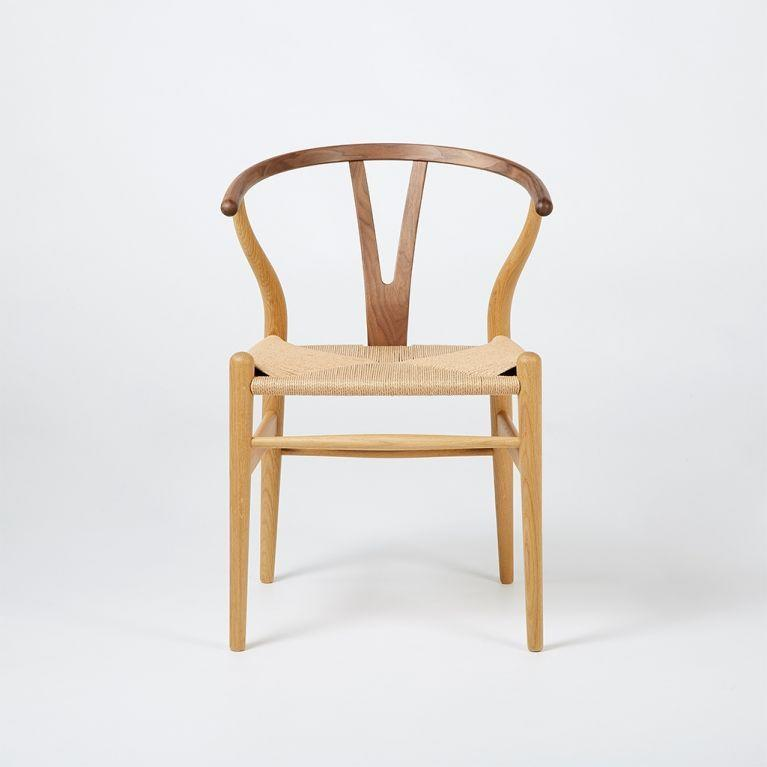 """<p><strong>Hans J. Wegner</strong></p><p>conranshop.co.uk</p><p><strong>£956.00</strong></p><p><a href=""""https://go.redirectingat.com?id=74968X1596630&url=https%3A%2F%2Fwww.conranshop.co.uk%2Fwishbone-ch24-chair-oak-walnut-natural-paper-cord.html&sref=https%3A%2F%2Fwww.veranda.com%2Fhome-decorators%2Fg33567403%2Fstylish-desk-chairs%2F"""" rel=""""nofollow noopener"""" target=""""_blank"""" data-ylk=""""slk:Shop It"""" class=""""link rapid-noclick-resp"""">Shop It</a></p><p>For those still using the dining table as a desk, this modern-design rush seat will make a great piece for work and everyday dining.</p>"""