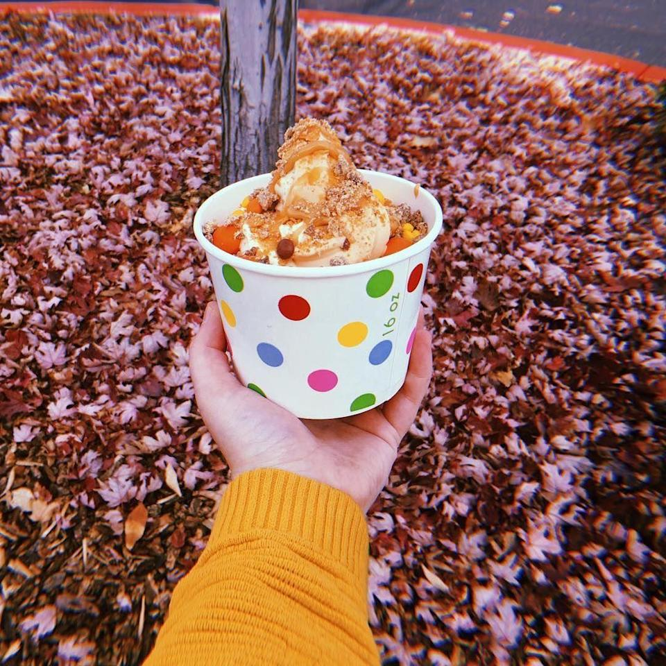 """<p><strong><a href=""""https://www.yelp.com/biz/blue-cow-frozen-yogurt-boise"""" rel=""""nofollow noopener"""" target=""""_blank"""" data-ylk=""""slk:Blue Cow Frozen Yogurt"""" class=""""link rapid-noclick-resp"""">Blue Cow Frozen Yogurt</a>, Boise</strong></p><p>""""This the best frozen yogurt place in Boise. My favorite treat is the cookies and cream yogurt with the cheesecake bites! There are very nice employees and there is free WiFi! Fantastic prices too!"""" - Yelp user <a href=""""https://www.yelp.com/user_details?userid=TWtl1U4ZleVDt3XOEeMHyg"""" rel=""""nofollow noopener"""" target=""""_blank"""" data-ylk=""""slk:Kristy S."""" class=""""link rapid-noclick-resp"""">Kristy S.</a></p><p>Photo: Facebook/<a href=""""https://www.facebook.com/bluecowyogurt/photos/a.10151119007449347/10156726997039347/?type=3&theater"""" rel=""""nofollow noopener"""" target=""""_blank"""" data-ylk=""""slk:Blue Cow Frozen Yogurt"""" class=""""link rapid-noclick-resp"""">Blue Cow Frozen Yogurt</a></p>"""