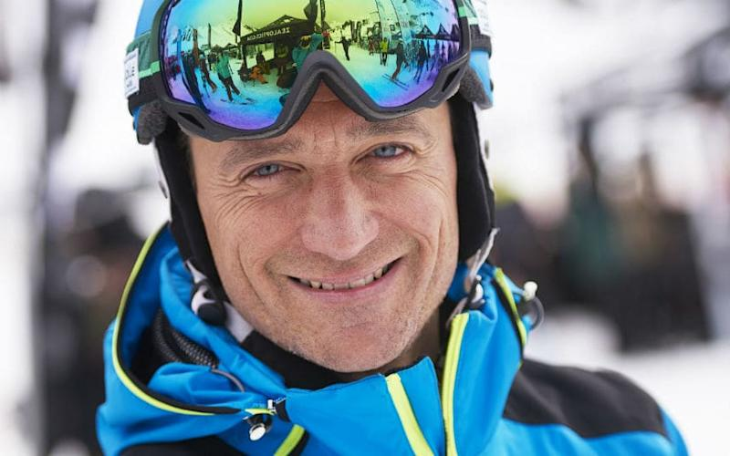 The Ski Sunday presenter gears up for another busy winter season - Adrian Myers
