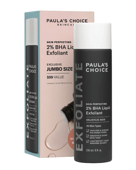 Beloved by shoppers and TikTok users, Paula's Choice Jumbo Skin Perfecting Exfoliant is a must-have beauty buy from the Nordstrom Anniversary Sale. Image via Nordstrom.