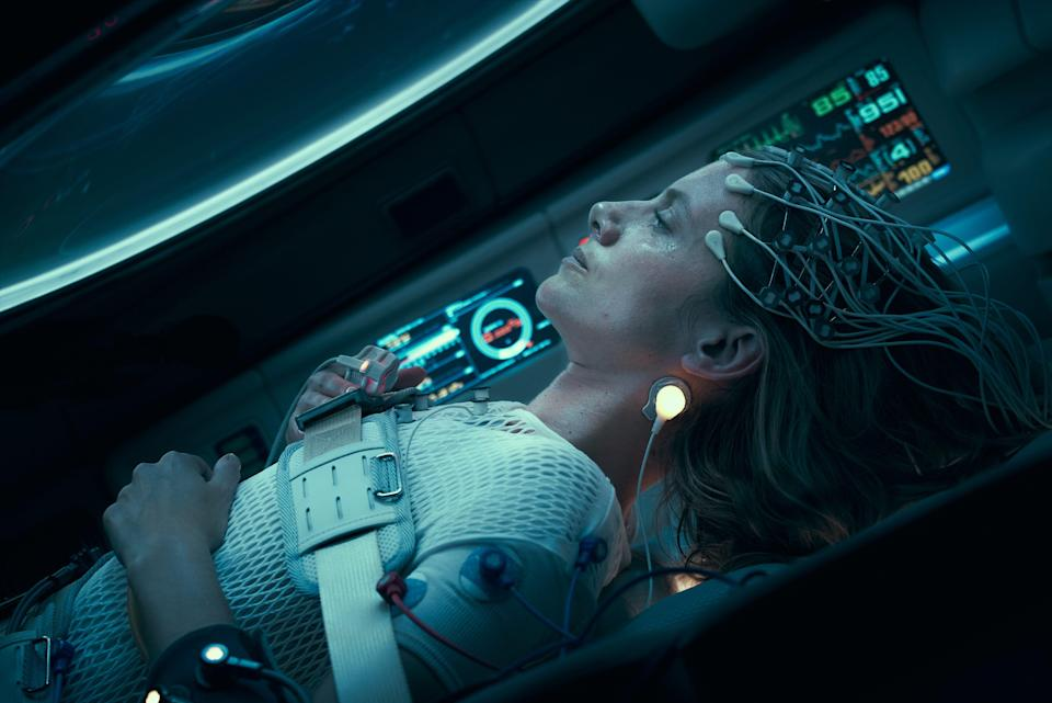 """Mélanie Laurent plays a woman who wakes up in a cryogenic pod with no idea how she got there in the survival thriller """"Oxygen."""""""