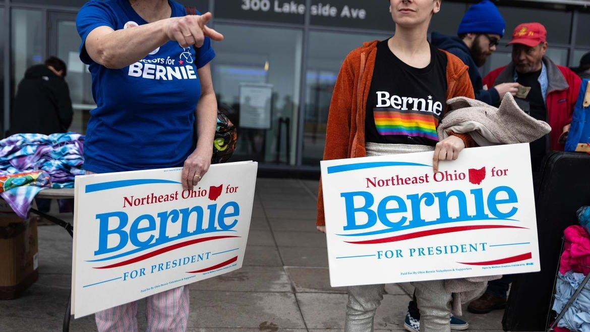 It's Decision Time for Bernie After Biden's Big Night