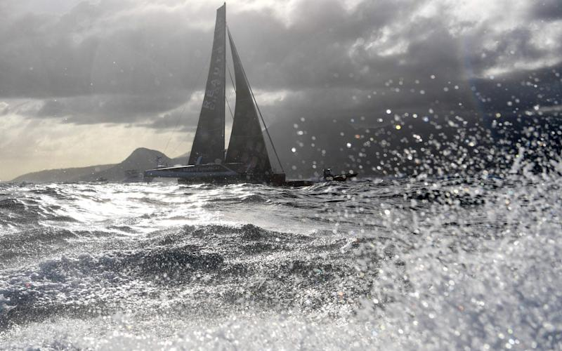 Susie Goodall was taking part in a single-handed non-stop race around the world (file photo) - AFP