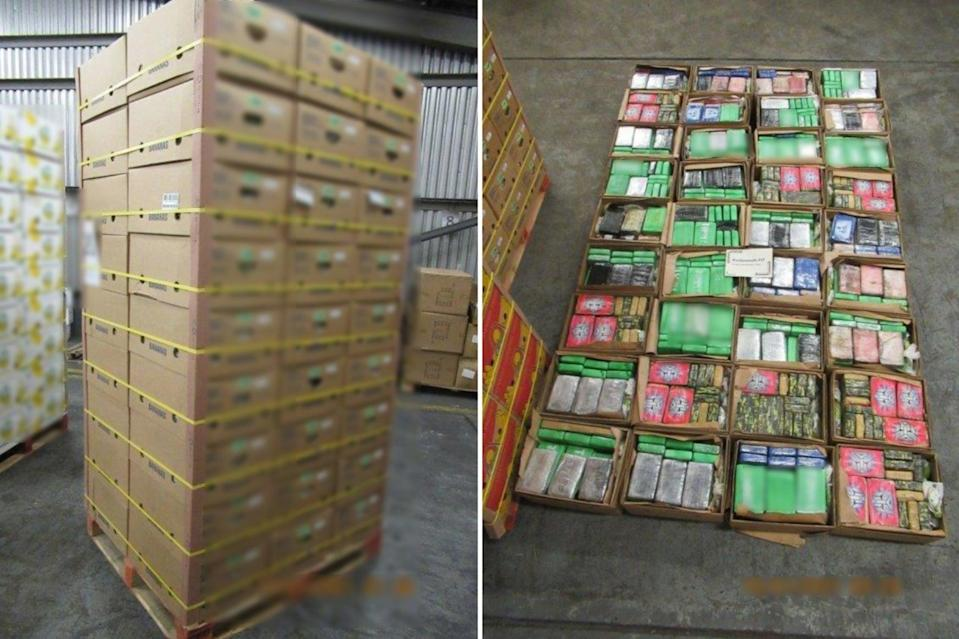 <p>The cocaine weighed a total of 946 kilos</p> (Home Office)