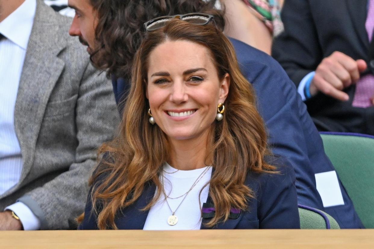 The royal mother-of-three has been in coronavirus self-isolation for a week since her first appearance at the tournament. (Getty Images)