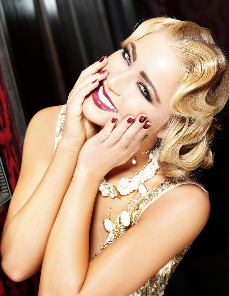 Miss Idaho USA 2013, Marissa Wickland, poses for fashion photographer Fadil Berisha in a 1920's Great Gatsby inspired wardrobe by Sherri Hill at the Planet Hollywood Resort and Casino, in Las Vegas Nevada.  Tune in to the crowning moment LIVE on NBC starting at 9:00 PM ET on June 16, 2013 from PH Live.