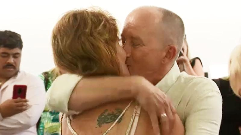 Rob and Rose Tropper met outside their local Woolworths three years ago. Photo: Nine News.