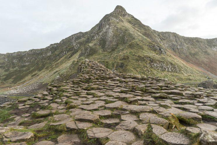 The Giant's Causeway in Northern Ireland is a major tourist draw (Artur Widak/NurPhoto via Getty Images)