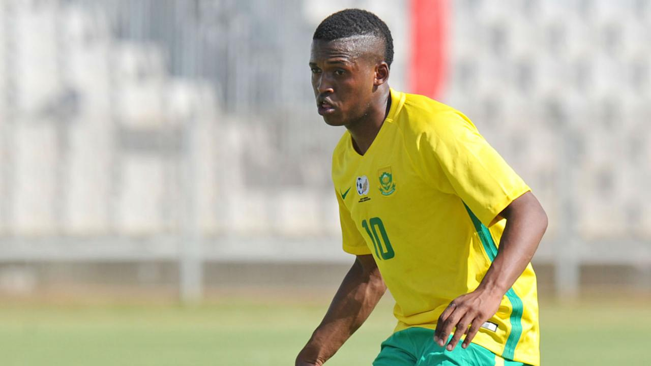 Latvia-based Kabelo Seriba is the latest player to report for national team duty in the camp of the South Africa U20 team