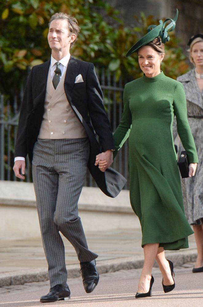 James Matthews and Pippa Middleton at the royal wedding