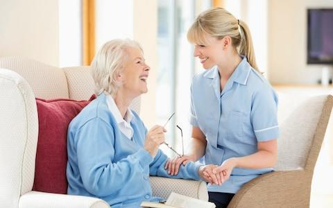 The NHS is seeking solutions to help pay for social care - Credit: Chris Ryan/Caiaimage