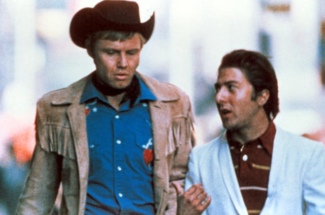 Jon Voight and Dustin Hoffman star in the 1969 Best Picture winner, <em>Midnight Cowboy</em> (Photo: Courtesy Everett Collection)