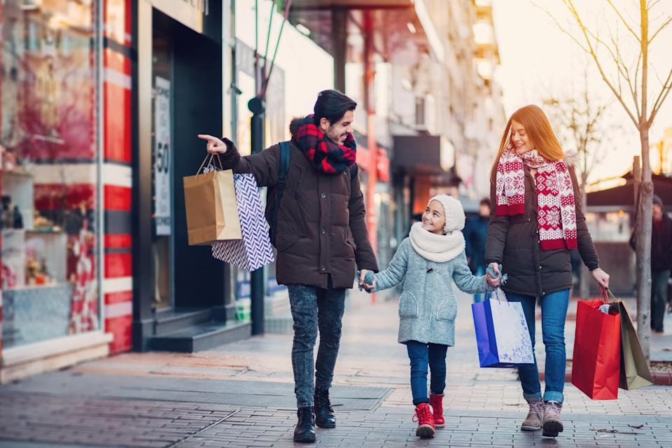 A dad who crowdfunded his children's Christmas presents has sparked a debate about Christmas spending. Photo: Getty
