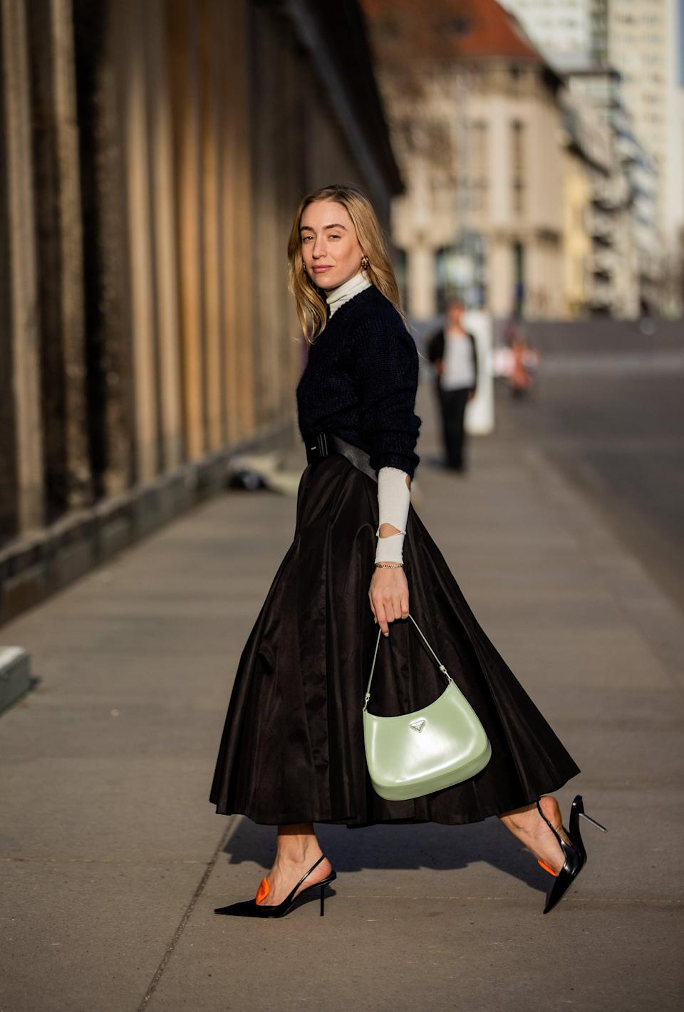<p>We've seen so much streetwear and casual clothing lately, it's really refreshing to see a take on a classic, elegant look.</p>