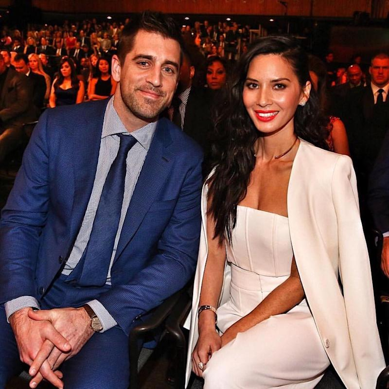 He Gets Along With My Family So Well From Day One It Just Fit Olivia Gushed About Her S Relationship Aaron Mother Is Very Easygoing
