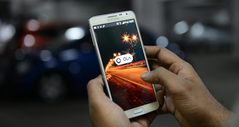 OLA cab booking mobile app