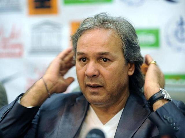Algeria coach Rabah Madjer launches incredible verbal attack on reporter for asking Riyad Mahrez a question