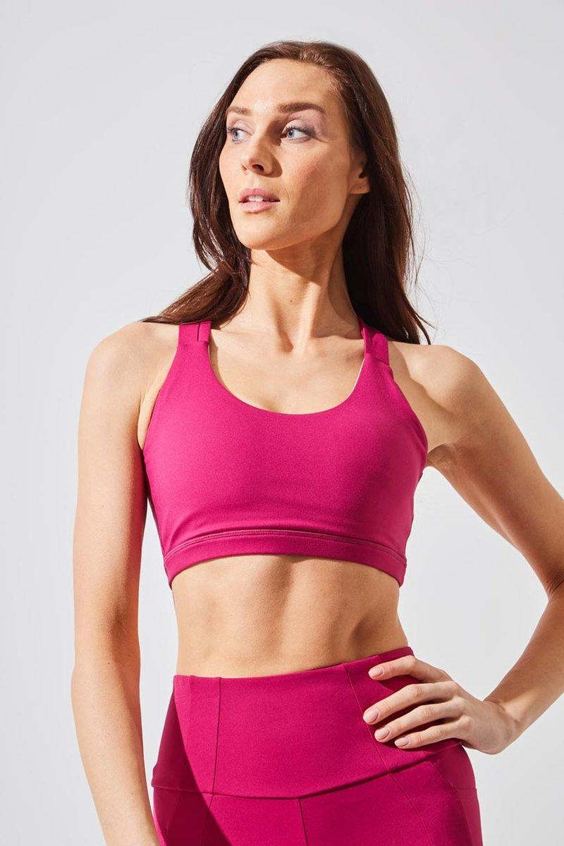 Valor Recycled Polyester Medium Support Bra. Image via MPG Sport.