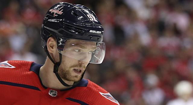 Evgeny Kuznetsov tested positive for cocaine use this summer. (Getty)
