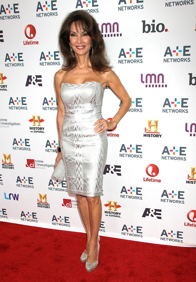 NEW YORK, NY - MAY 08:  Susan Lucci attends A&E Networks 2013 Upfront at Lincoln Center on May 8, 2013 in New York City.  (Photo by Laura Cavanaugh/Getty Images)
