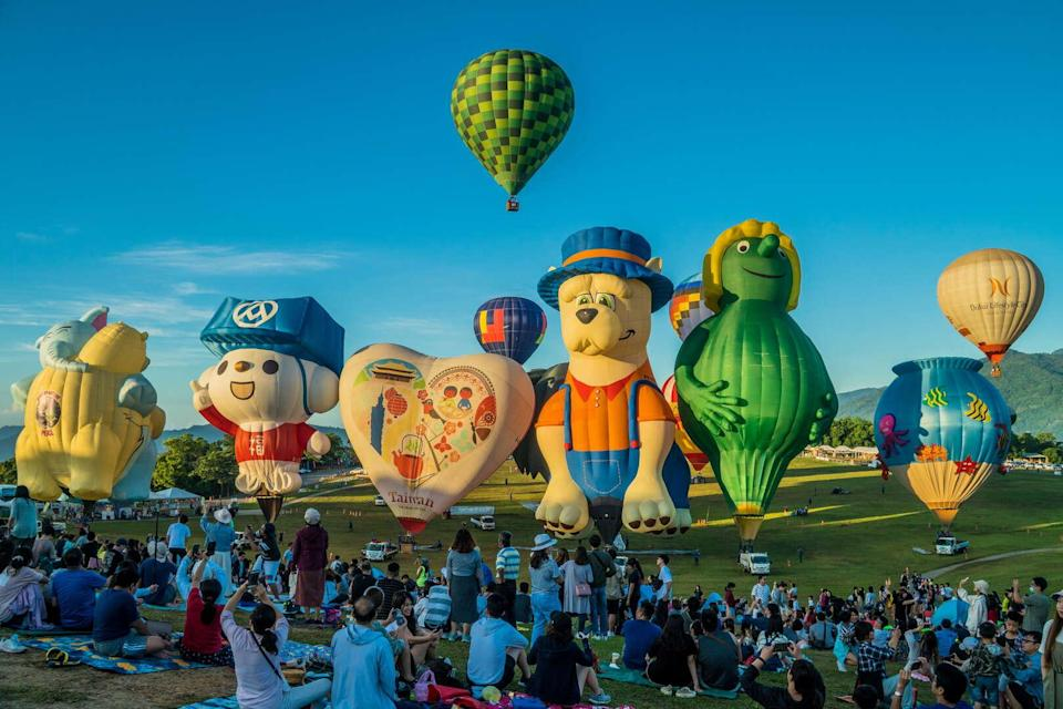 <p>2020 Taiwan International Balloon Festival (Courtesy of Taitung County Government)</p>