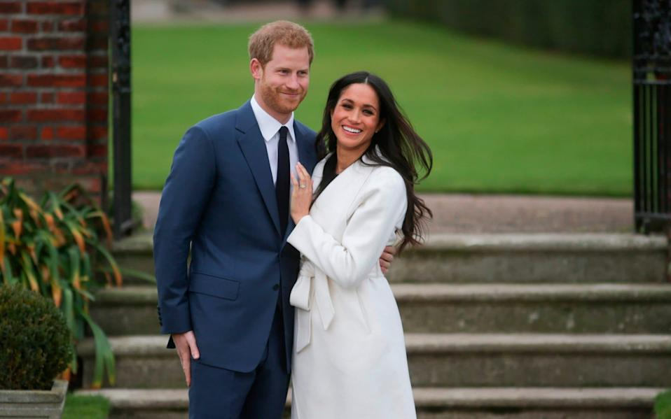 The Duke and Duchess of Sussex in 2017 - DANIEL LEAL-OLIVAS/AFP