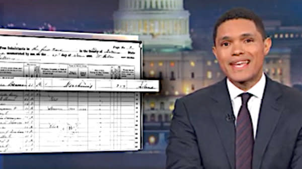 Trevor Noah Uncovers The Immigration Status Of Steve Bannon's Ancestors