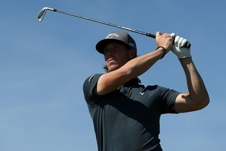 Sweden's Kristoffer Broberg holds the halfway lead in the Dutch Open (David Davies/PA) (PA Archive)