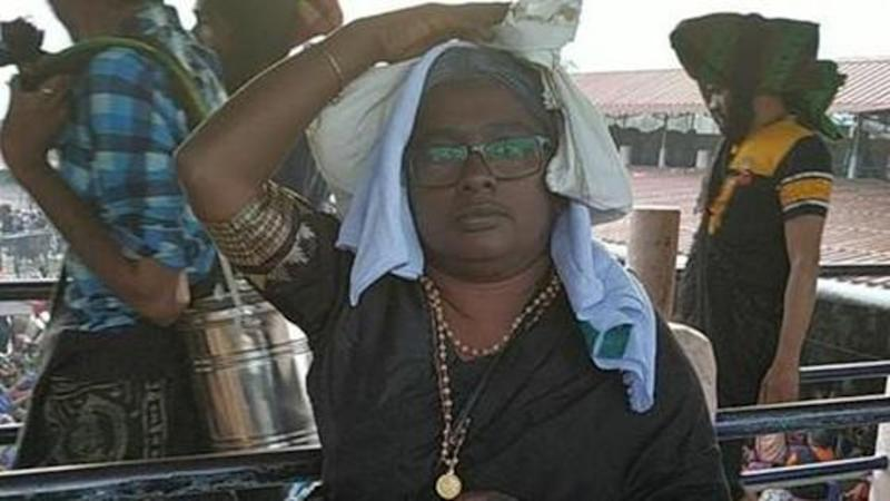 Sabarimala: After dyeing hair grey, 36-year-old enters shrine, offers prayers