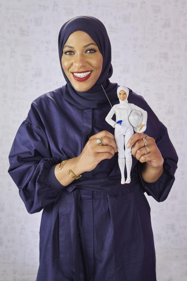 First hijab-wearing Barbie to honor US fencer Ibtihaj Muhammad
