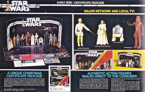 A close look at the Early Bird package. (Photo courtesy of the <em>Star Wars</em> Collectors Archive)
