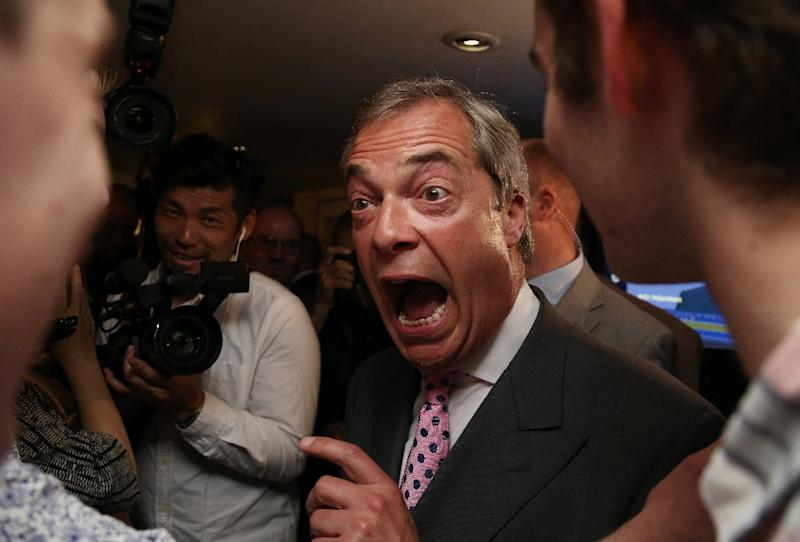 Nigel Farage and Donald Trump to team up for The Brexit Story