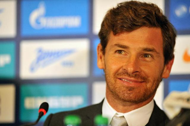 Andre Villas-Boas, head coach of Zenit St Petersburg, pictured during a press conference in St. Petersburg, on March 20, 2014 (AFP Photo/Olga Maltseva)